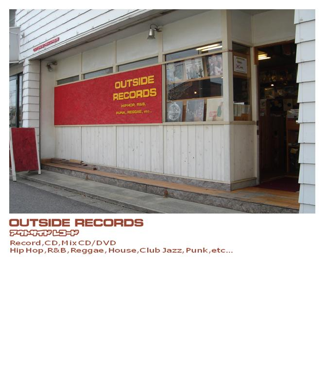 OUTSIDE RECORDS アウトサイドレコード 新譜輸入盤 国内盤 アナログレコード Mix CD DVD Hip Hop R&B Soul Reggae Dub Electronica Techno House Jazz Bossa Blazilian Rock Punk J-Pop